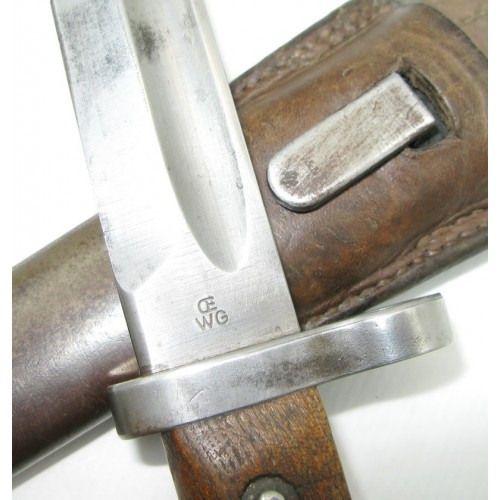 Österreichisches Bajonett für das Mannlicher Gewehr M. 1890