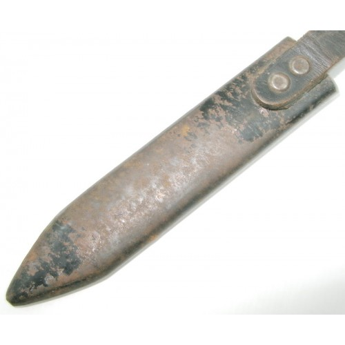 WWII. Fahrtenmesser-Scheide