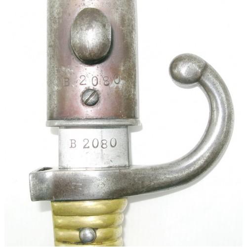 Argentinisches Remington M1891 / Mauser 1909 Bajonett