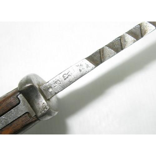 Preußen, Seitengewehr M 1898 a.A., mit Sägerücken