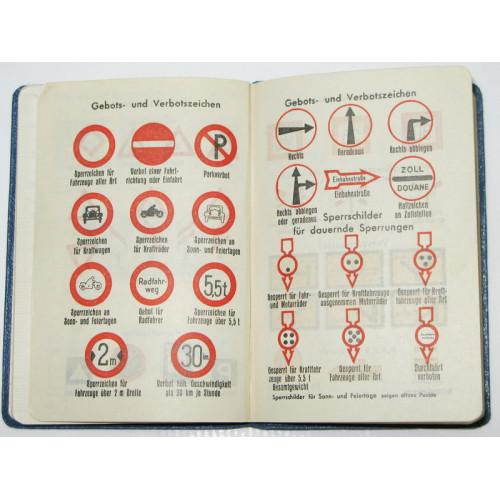 Merkbuch/Taschenkalender aus dem Jahre 1939