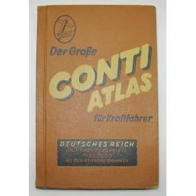 Der Große Conti Atlas für Kraftfahrer, Deutsches Reich u. Nachbargebiete