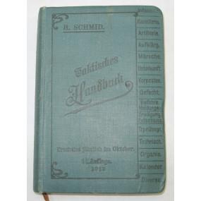 Taktisches Handbuch 1913
