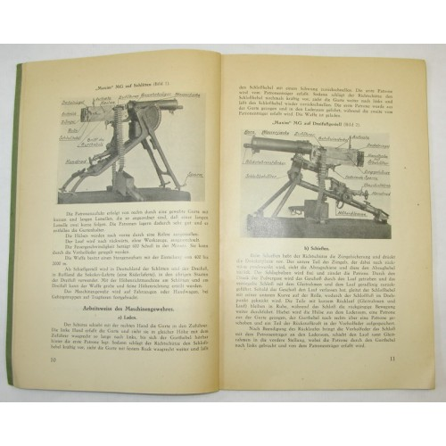 8 mm M 07/12 schweres Maschinengewehr