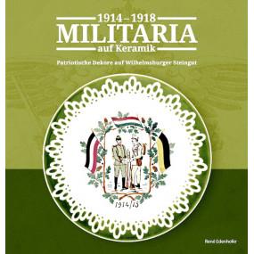 Militaria auf Keramik 1914-1918