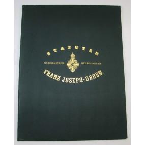 Statuten für den Kaiserlich Österreichischen Franz Joseph Orden