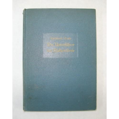Schilffarth/Sachs Der Unterführer der Flakartillerie 1938