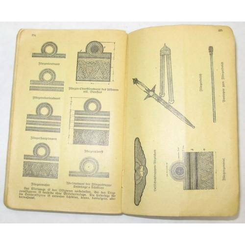 Major Oberhauser`s Militär-Taschen Notiz-Kalender 1937 XII. Jahrgang