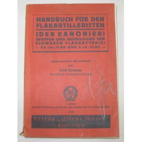 Handbuch für den Flakartilleristen - 8,8 cm und 2 cm Flak - 1939