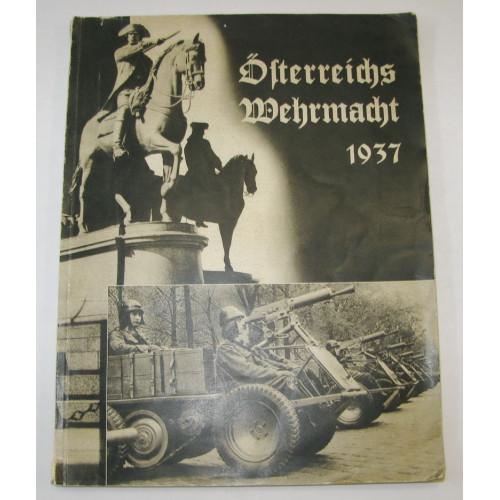 Österreichs Wehrmacht 1937