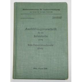 Ausbildungsvorschrift für die Infanterie, 9 cm Panzerabwehrrohr (PAR)