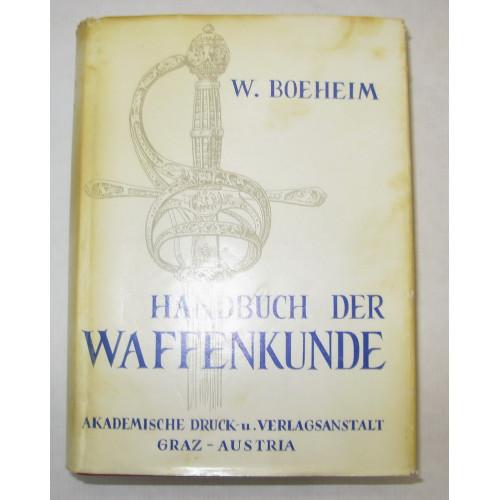 W. Boeheim, Handbuch der Waffenkunde