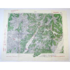 k. u. k. Landkarte, STORO 1917