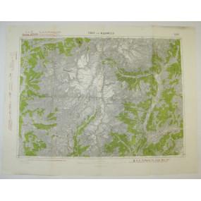 k. u. k. Landkarte, TIONE und M. ADAMELLO 1917