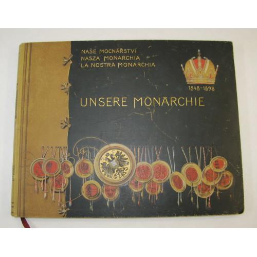 UNSERE MONARCHIE 1848 - 1898 DIE ÖSTERREICHISCHEN KRONLÄNDER