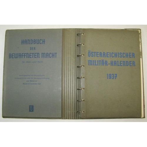 Handbuch der bewaffneten Macht für Heer und Volk mit dem Österreichischen Militärkalender 1937