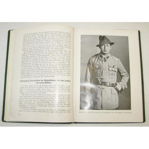 Hans Arthofer, Vom Selbstschutz zur Frontmiliz 1918 - 1936