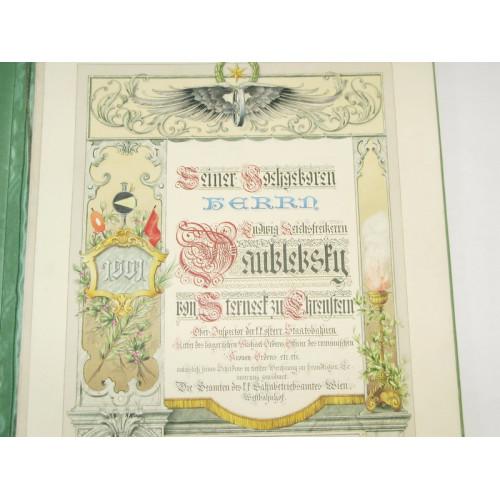 Ludwig Reichsfreiherr Daublebsky von Sterneck zu Ehrenstein