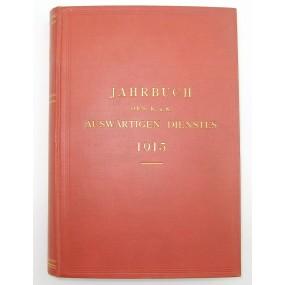 Jahrbuch des k.u.k. Auswärtigen Dienstes 1915