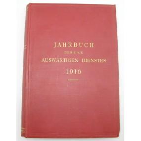 Jahrbuch des k.u.k. Auswärtigen Dienstes 1916