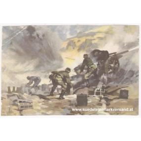 Ansichtskarte / Postkarte, Deutsche Wehrmacht, 10,5 cm Feldhaubitze in Griechenland