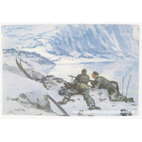 Ansichtskarte / Postkarte, Deutsche Wehrmacht, Gebirgsjäger vor Narvik