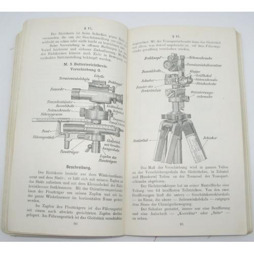 k.u.k. Artillerieunterricht 8 cm Feldkanone M. 5