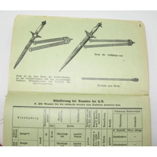 Major Oberhauser`s Militär-Taschen Notiz-Kalender 1938 XIII. Jahrgang