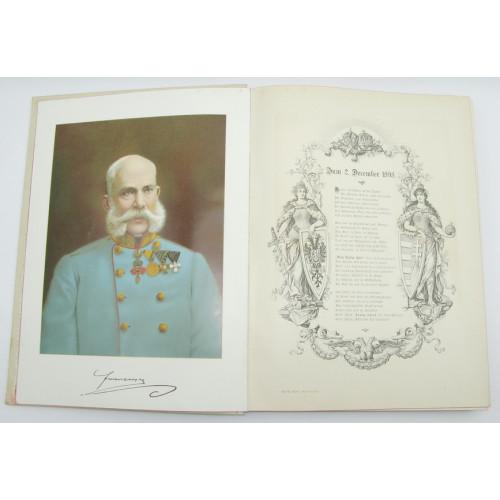 Unser Kaiser VIRIBUS UNITIS 1898
