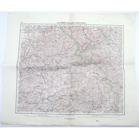 k. u. k. Landkarte, KLAUSENBURG, MARAMAROS-SZIGET, TÖLGYES