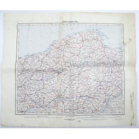 k. u. k. Landkarte, DANZIG, COLBERG, THORN