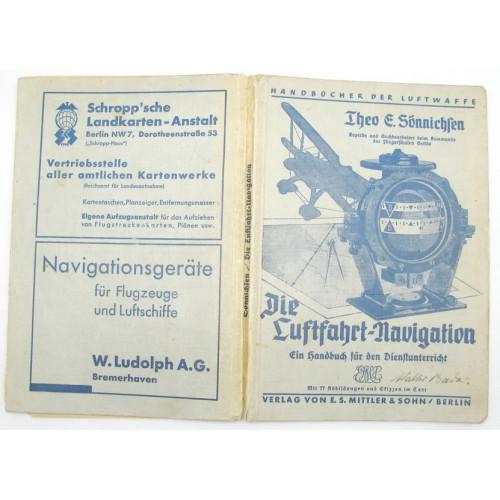 Theo E. Sönnichsen, Die Luftfahrt Navigation