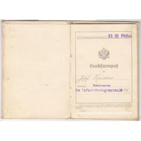 k. k. Landsturmpass Infanterrieregiment Nr. 49