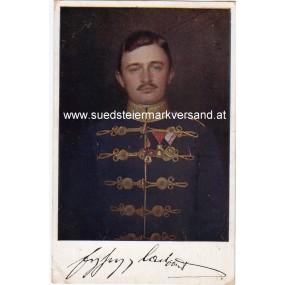 FELDPOSTKARTE, Kaiser Karl