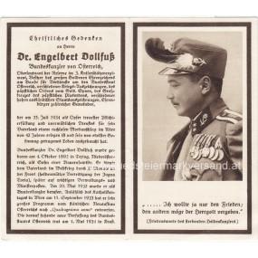 Christliches Andenken, Dr. Engelbert Dollfuß