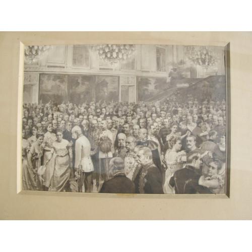 Hofball mit Kaiser Franz Josef