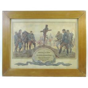 Zur Erinnerung an die Helden der österr. - ung. Armee 1914/15