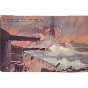 Ansichtskarte / Postkarte, Beschießung des Lovcen