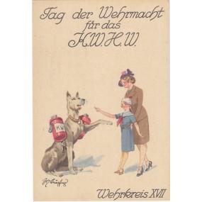 Tag der Wehrmacht für das KWHW, MELDEHUND