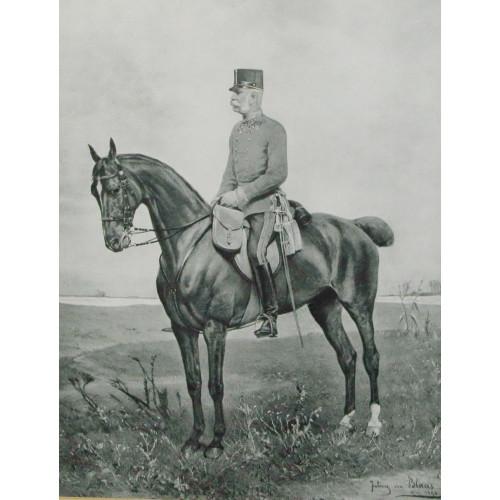 Julius von Blaas, Franz Joseph I., Kaiser von Österreich