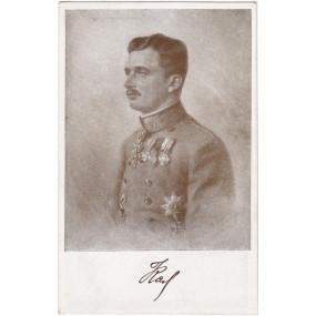 Ansichtskarte / Postkarte, KAISER KARL I.