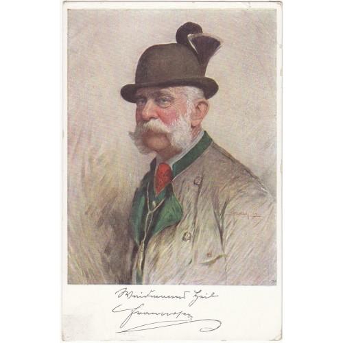 Ansichtskarte / Postkarte, KAISER FRANZ JOSEF I.