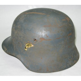 Stahlhelm M.35 der B - Gendarmerie