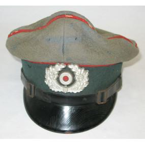 Wehrmacht-Schirmmütze für Mannschaften der Artillerie