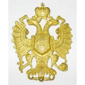 Tschakoadler für Offiziere der k.u.k. Infanterie