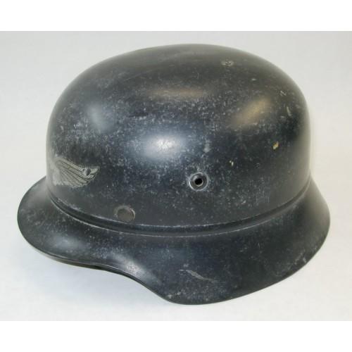 Sicherheits- Hilfsdienst SHD/Lutschutz Stahlhelm M 40