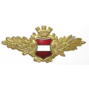 Österreich allgemeines Kappenabzeichen der Stadtpolizei