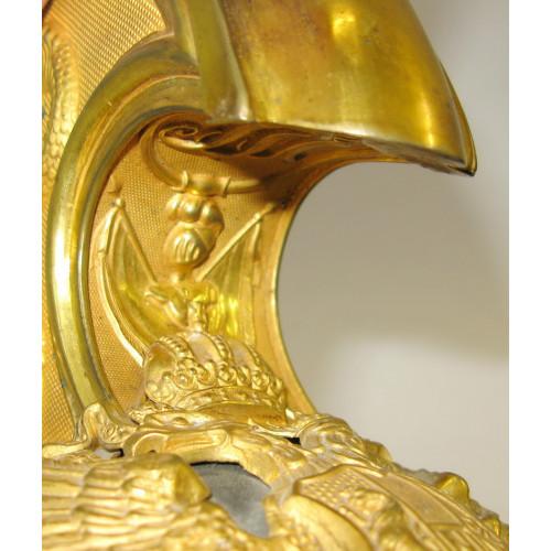 Österreichisch-ungarischer Dragoner-Offiziershelm