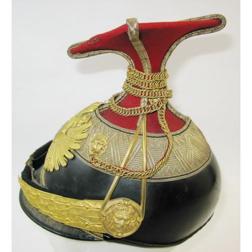 Tschapka für einen Offizier des k. k. Landwehr-Ulanenregiments Nr.2