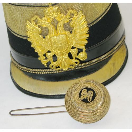 k.u.k. Infanterie-Tschako für Subalternoffiziere